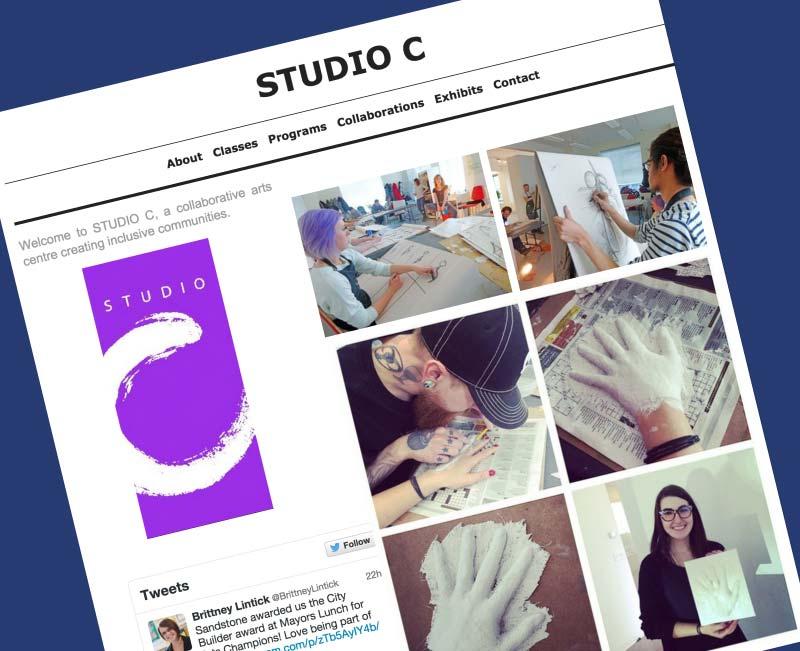 Studio C Website