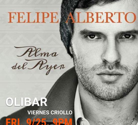 Felipe Alberto - Live at Olibar in New York 2015