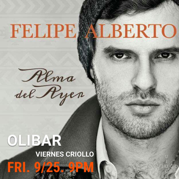 Felipe Alberto - Live at Olibar in New York 2015