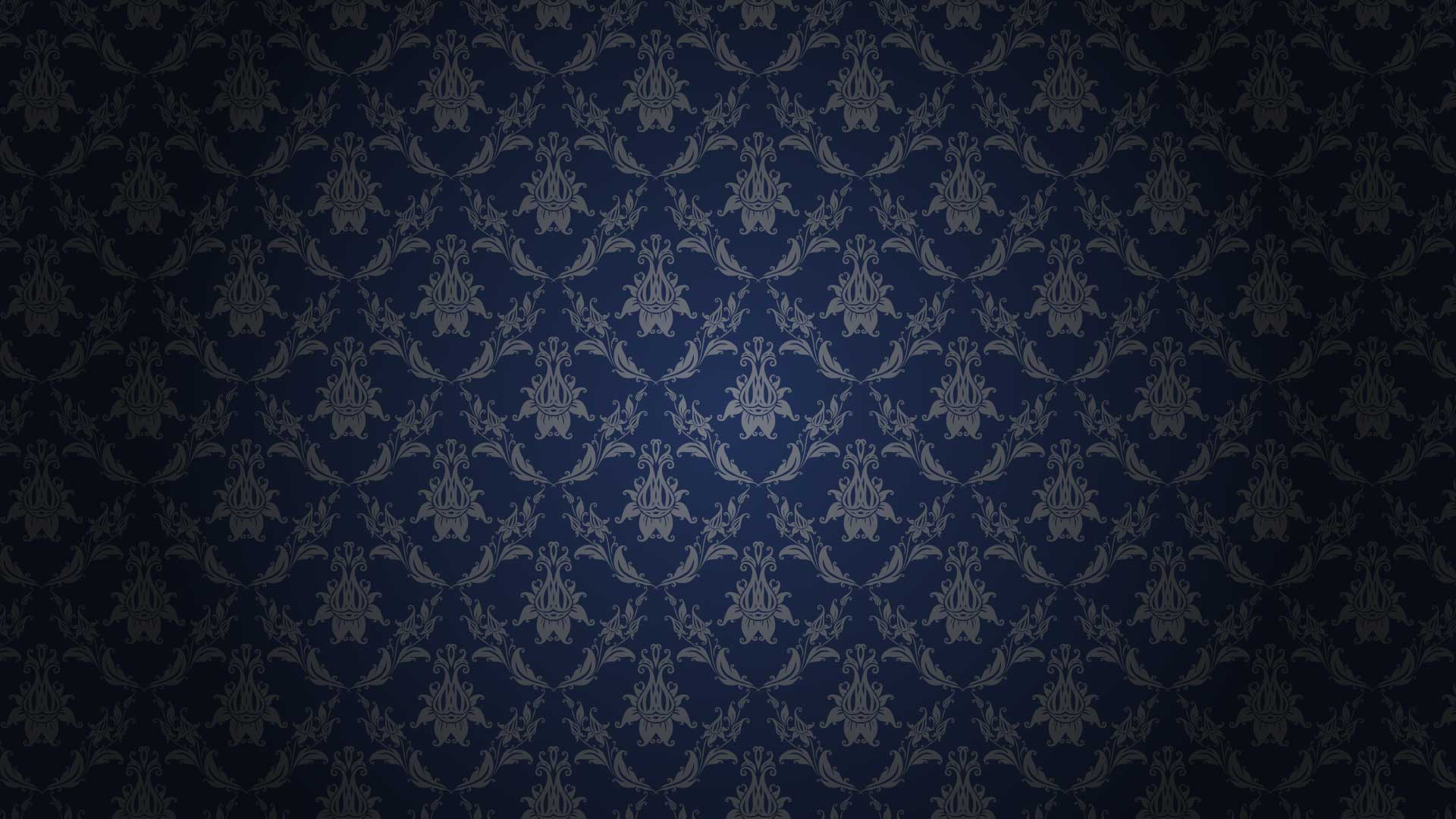 Damask Background with Gradient