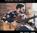 Felipe Alberto - Nuestro Secreto Promotional Tour October 2018